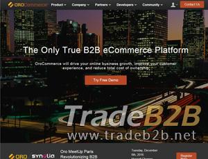 Orocommerce.com - Open-source B2B commerce platform