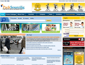 Packsourcing.com - Global packaging industry trade B2B marketplace