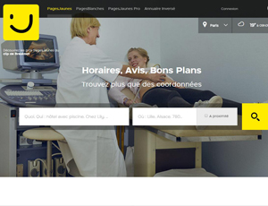 Pagesjaunes.fr - France Yellow Pages business directory