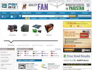Pakbiz.com - Pakistan B2B Marketplace for Manufacturers and Exporters