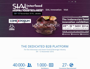 Sialinterfood.com - The dedicated b2b platform