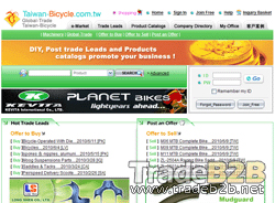 Taiwan-bicycle.com.tw - Bike B2B Marketplace and Bicycle manufacturers Directory