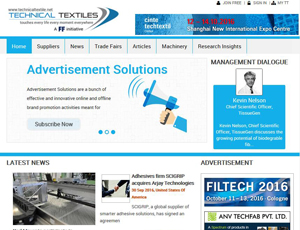 Technicaltextile.net - Textile Industry B2B Marketplace and B2B Portal