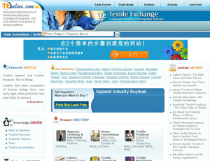 Teonline.com - Global B2B Marketplace for Textile Industry