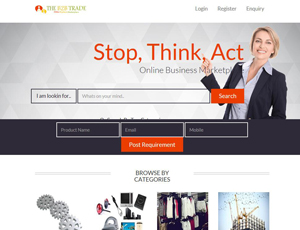 Theb2btrade.com - Indian Manufacturers, Suppliers, Exporters Directory