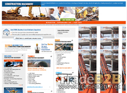 Theconstructionmachinery.com - Construction Machinery B2B Marketplace