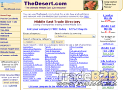 TheDesert.com - the ultimate Middle East b2b resource