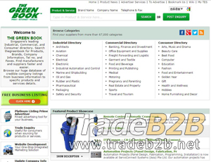 Thegreenbook.com - Singapore's leading business to business Directory