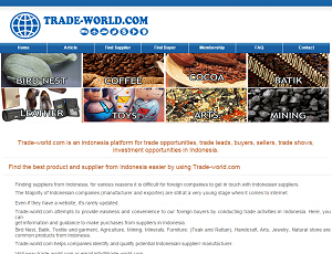 Trade-world.com - Interntional B2B Trade Leads