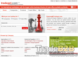Tradeget.com - India Manufacturers, Exporters and Suppliers Directory