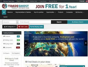 Tradeghost.com - Pakistan online B2B marketplace
