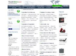 Trademetro.net - Trade Leads for Manufacturers and Suppliers