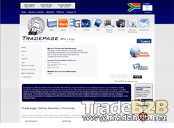 Tradepage.co.za - South Africa Online Trade & Commerce Business Directory