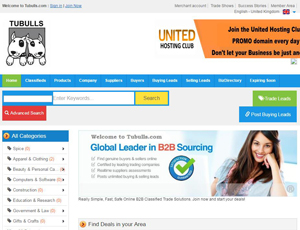 Tubulls.com - Europe's free B2B Platform Suppliers Directory