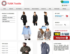 Tusktextile.com - Turkey Garments b2b marketplace