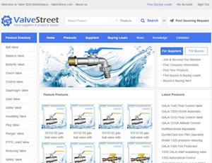 Valvestreet.com - Online Valve Manufacturers,Suppliers B2B marketplace