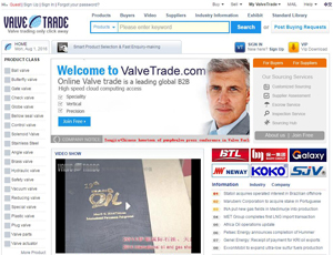 Valvetrade.com - Valve Products and Manufacturers Directory