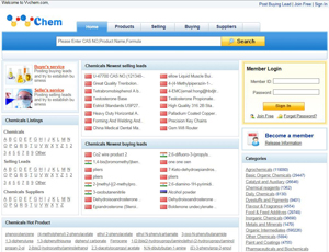 Vvchem.com - Chemical B2B Marketplace and supplier Source