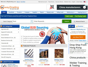Way2trading.com - B2B Marketplace for Indian Suppliers and Exporters