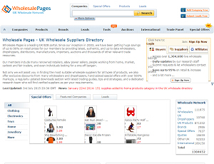 Wholesalepages.co.uk - Wholesale Suppliers & UK Wholesalers Directory
