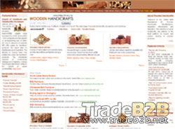 Wooden-handicrafts.com - India Wooden Furniture B2B Marketplace and Manufacturers Directory