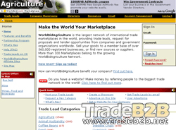 Worldbidagriculture.com - Agriculture International Trade b2b Marketplace