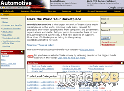 Worldbidautomotive.com - Automotive International Trade b2b Marketplace