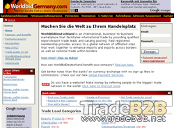 Worldbidgermany.com - Germany International Trade b2b Marketplace