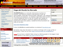 Worldbidmexico.com - Mexico International Trade Leads Import Export b2b Marketplace