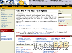 Worldbidplastics.com - Plastics International Trade b2b Marketplace