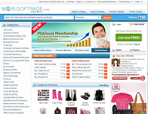 Worldoftrade.com - Global B2B Trade Marketplace