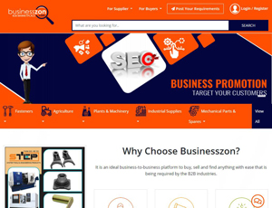 Businesszon.com/ - India`s largest Business Directory
