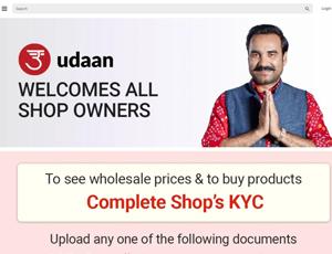 Udaan.com - B2B Buying for Retailers