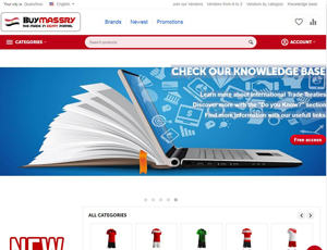 Buymassry.com - Made in Egypt products leading marketplace