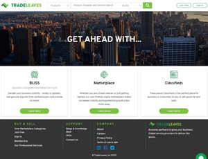 Tradeleaves.com - B2B Marketplace for Importers and Exporters