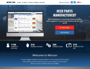 Wor-con.com - B2B manufacturing marketplace