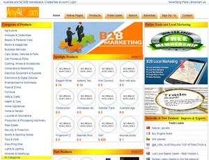 Anyau.com - Australia B2B Marketplace and NZ Trade Platform