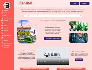 Francebusinessguide.com - France manufacturing business suppliers B2B social network