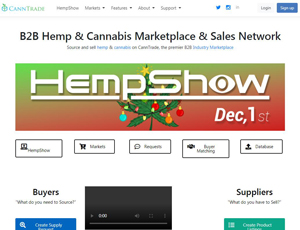 Canntrade.com - Cannabis Wholesale Marketplace Network