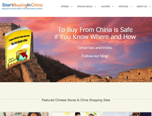 Startbuyinginchina.com - Buy Safe From China - Only Real Chinese Stores