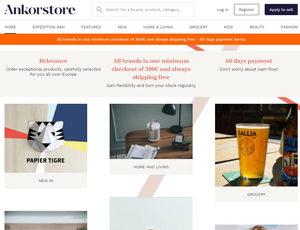 Ankorstore.com - France and Europe B2B Marketplace